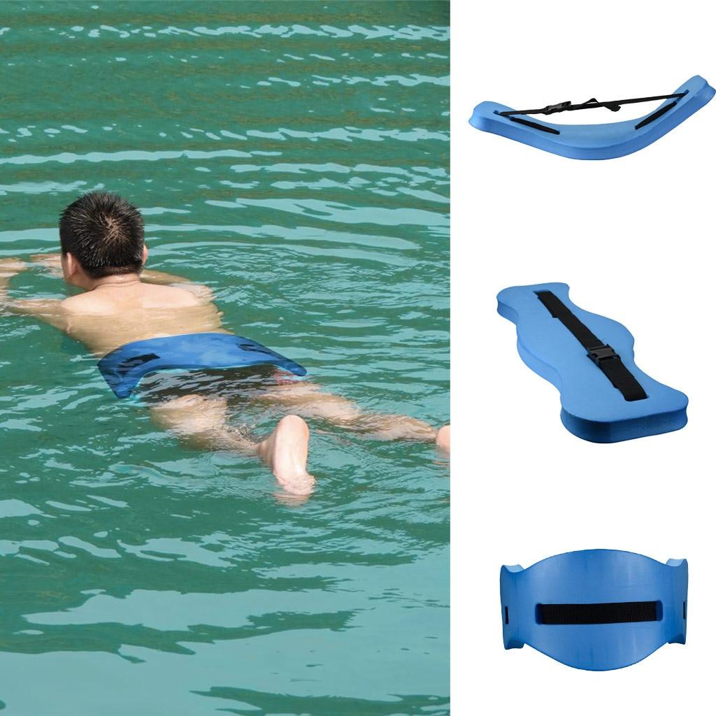 EVA Adjustable Back Floating Foam Swimming Belt Waist Training Equipment Adult Children Tool Swimming Poll Float Board Belt