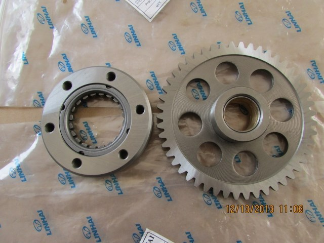 LINHAI 250CC 300CC 400CC yp250 ENGINE PLATE GEAR ASSY OVERRUNNING CLUTCH 250CC ATV QUAD accessories free shipping clutch assy of js400atv and bashan 400cc atv parts code is f3 414000 0