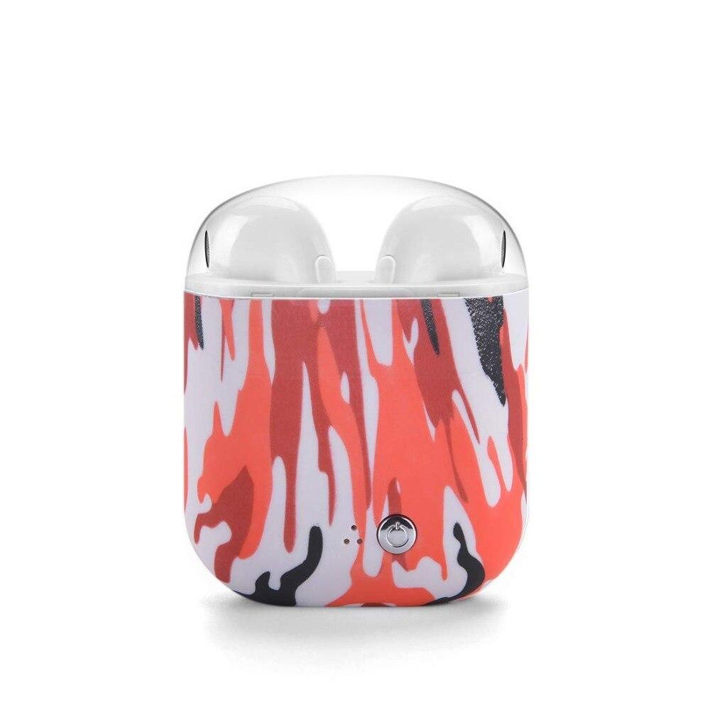 Auricular inalámbrico Bluetooth auriculares caja de carga par en Auriculares auriculares estéreo para todos los teléfonos inteligentes