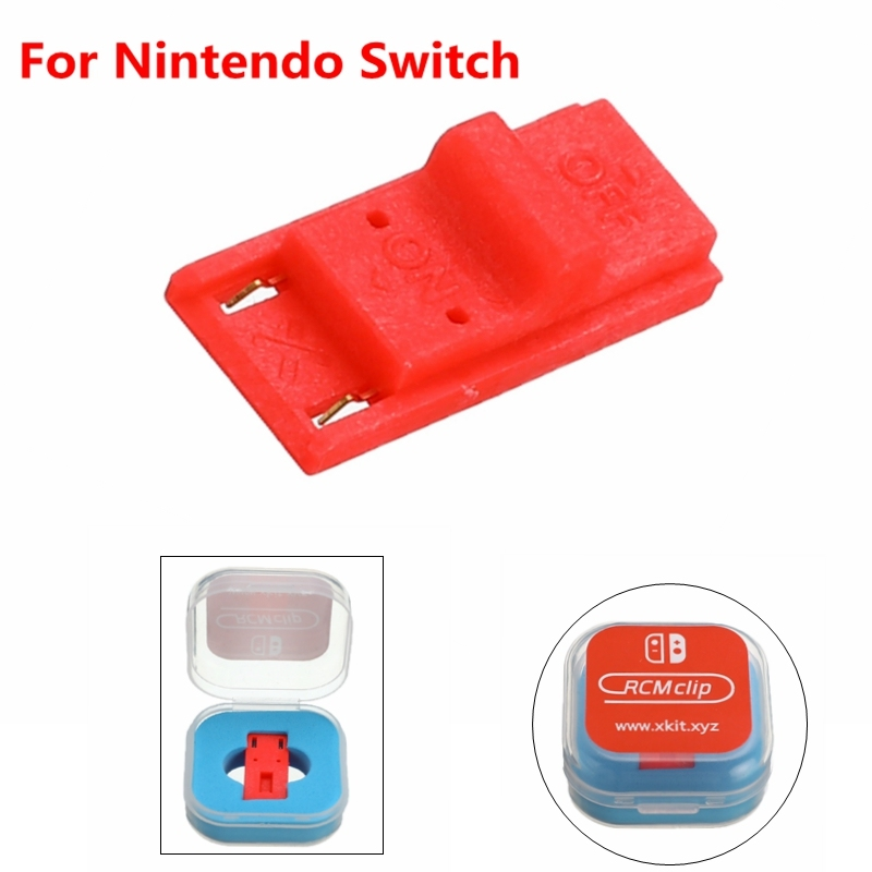 US $1 75 27% OFF For Nintendo Switch RCM / NS SX OS Receplament Tool Short  Circuit Modify Recovery JIG Mode Joycon Mod Hack Keyring-in Replacement