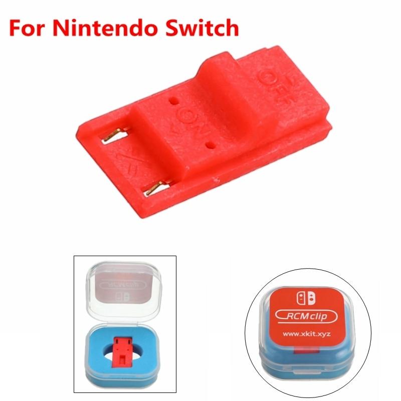For Nintendo Switch RCM / NS SX OS Receplament Tool Short Circuit Modify Recovery JIG Mode Joycon Mod Hack Keyring