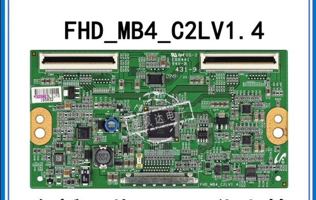 LCD Board FHD_MB4_C2LV1.4 E88441 Logic Board For Connect With LTY460HM01 T-CON Connect Board