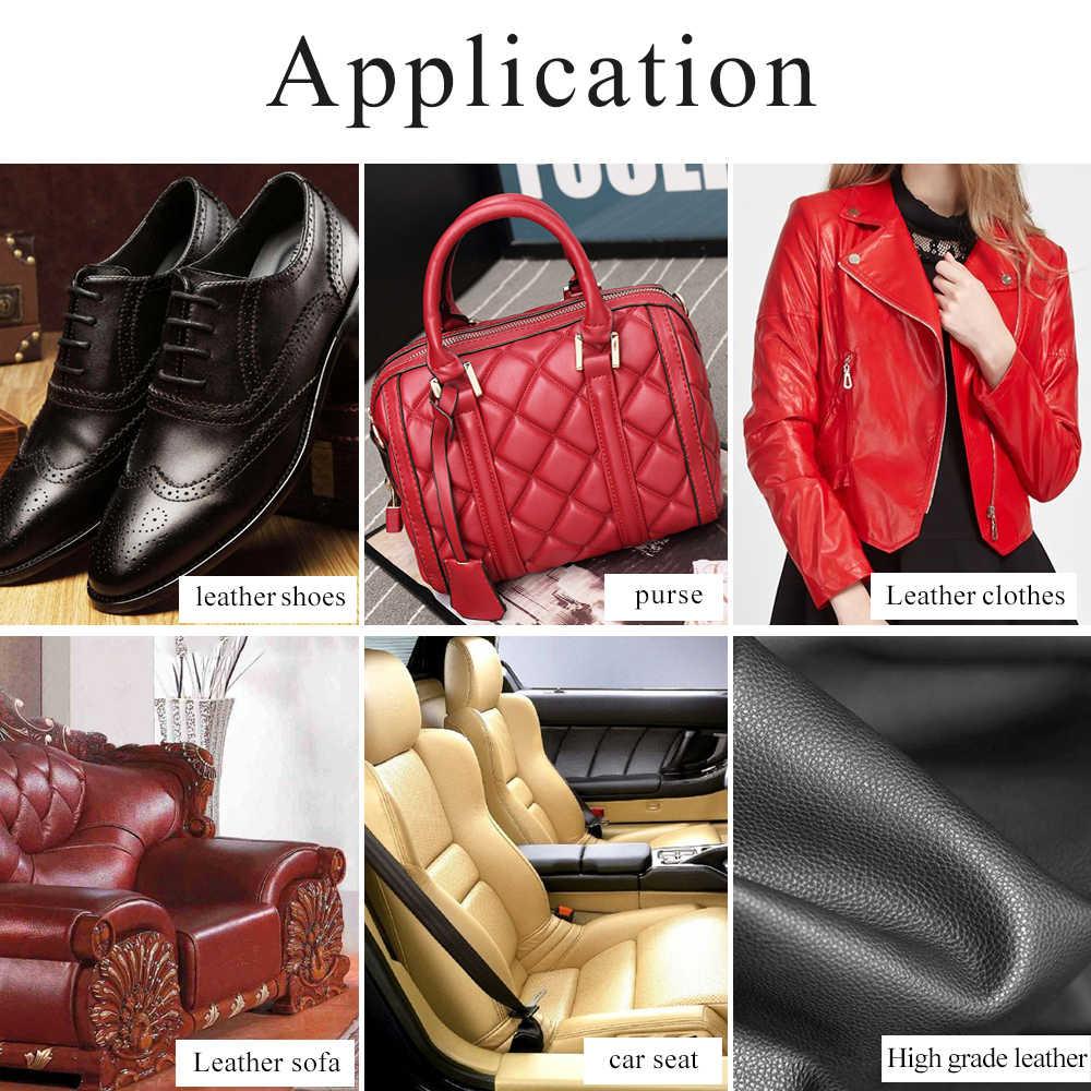 30 مللي الأرجواني جلدية الطلاء لطلاء الجلود حقيبة ، أريكة ، الأحذية و الملابس شحن الإسفنج و قفازات الاكريليك الاكريليك الدهانات