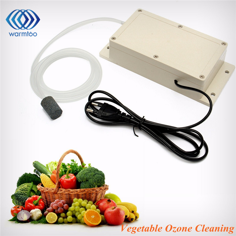 ABS Ozone Generator 220v 600mg Food Air Sterilizer Water Air Purifier Suitable For A Wide Range Durable Quality
