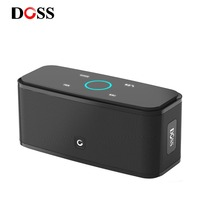 DOSS SoundBox Touch Control Bluetooth Speaker 2*6W Portable Wireless Speakers Stereo Sound Box with Bass and Built in Mic