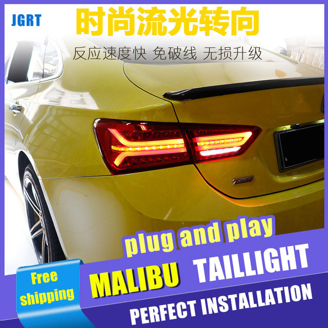 Car Styling For Chevrolet Malibu Taillight Embly 2017 2018 Led Tail Light Rear Lamp