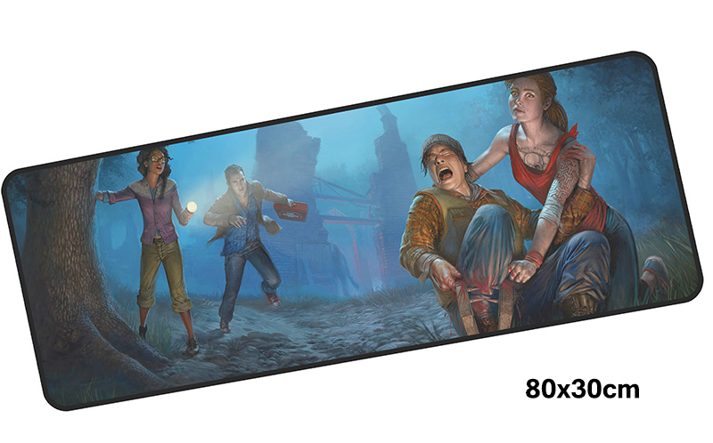 dead by daylight mousepad gamer 800x300X3MM gaming mouse pad large big notebook pc accessories laptop padmouse ergonomic mat