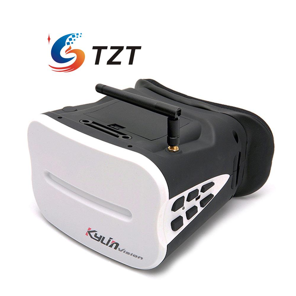 5.8G FPV Goggles 5 64CH HD Wireless Glasses Video Receiver for Quadcopter Kylin Vision fpv goggles 5 8g 40 channel receiver video glasses eyewear av in