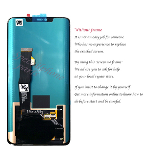 Image 3 - Super AMOLED For Huawei Mate 20 Pro LCD Display Touch Screen Digitizer Assembly Repair Mate 20 pro LCD With frame With fingerpri