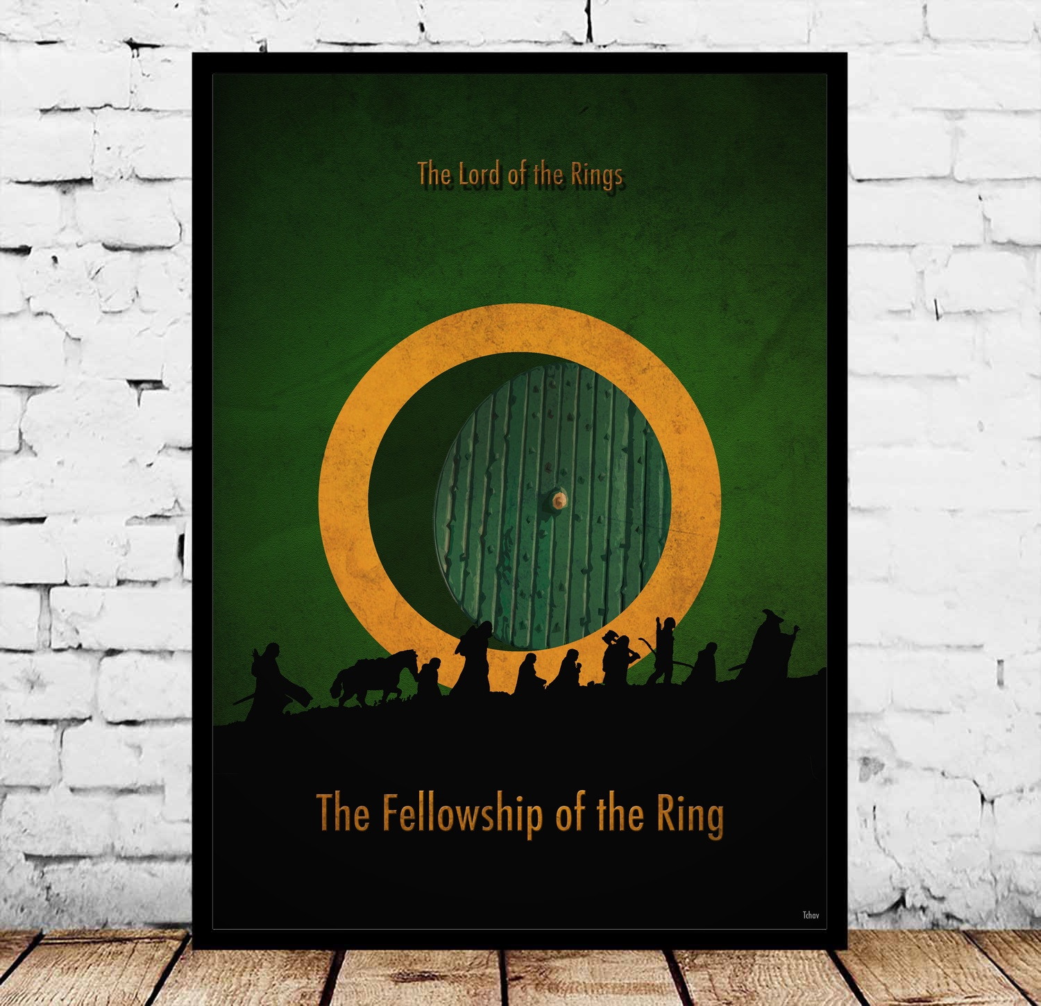 the lord of rings Movie Poster Canvas Painting image