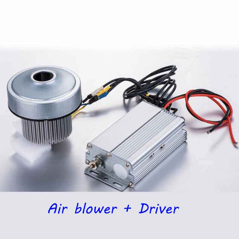 цена на 12V Air Suction Brushless DC Centrifugal Motor and drive Planter Blower 1200LPM 150W 7kPa High Pressure Seeder blower Fan
