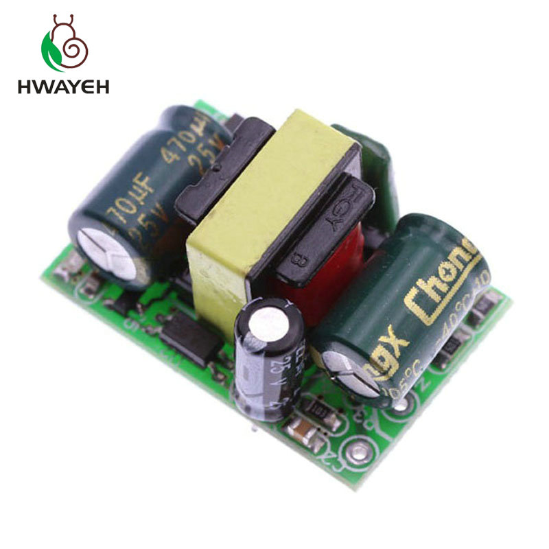 10PCS AC-DC 110V <font><b>220V</b></font> to 12V 400mA 5W Switching Switch Power Supply Converter Regulated Step Down <font><b>Voltage</b></font> <font><b>Regulator</b></font> Module image