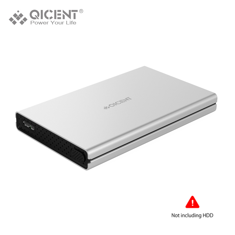 QICENT 2528U3 Aluminum Sata3.0 To USB 3.0 HDD Case Tool Free 2.5 HDD Enclosure For Notebook Desktop PC Hard Disk Box