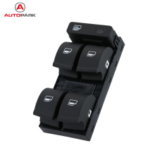 KKmoon 5 Button Car Modification Electronic Window lifter Switch for Audi A4 B6 B7 02-05 Car Accessories for Audi(China)