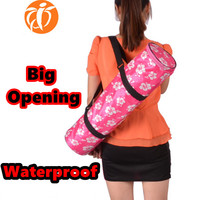 HOT Multifunctional yoga bag Good quality GYM mat bag big Opening backpack waterproof fitness suit carriers(no yaga mat in it)