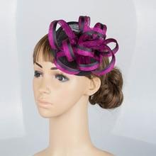 Fashion material fascinator headwear