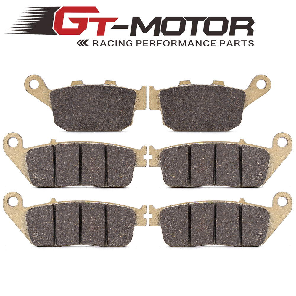 Motorcycle Front and Rear Brake Pads For KAWASAKI Z750 ZR750 2007-2011 brake pads ceramic for kawasaki front rear z 750 abs zr 750 m 2007 2011 oem new high quality zpmoto
