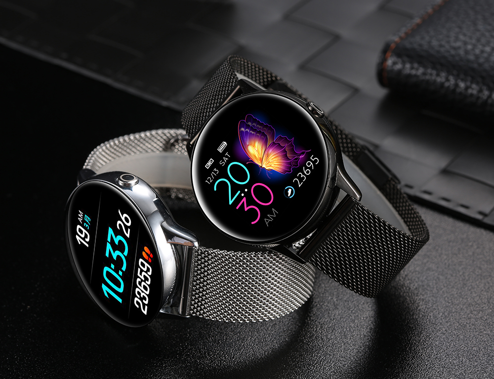 Women IP68 Waterproof Smart Watch for iPhone xiaomi LG with Bluetooth and Heart Rate Monitor Fitness Tracker 8