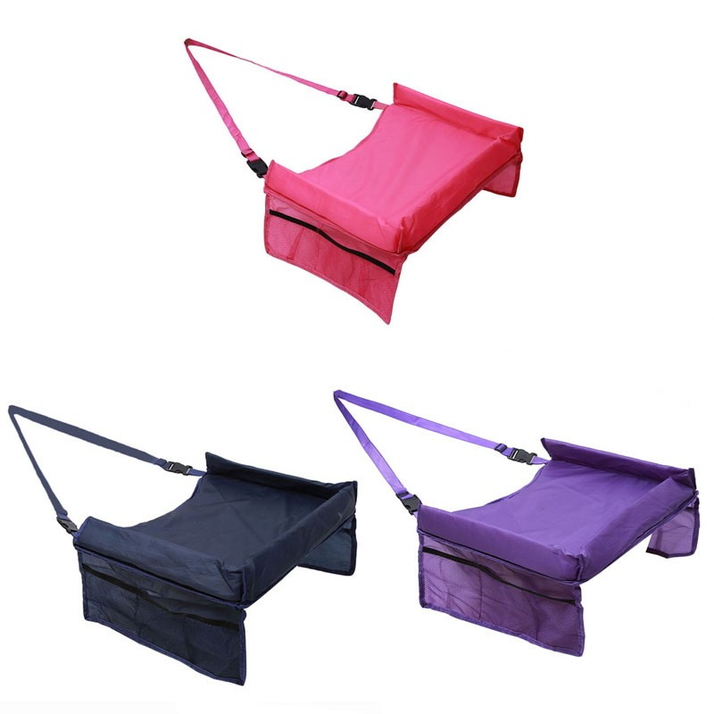 Waterproof table Car Seat Tray Storage Kids Toys Infant Stroller Holder for Children 5 Colors SA878793 3
