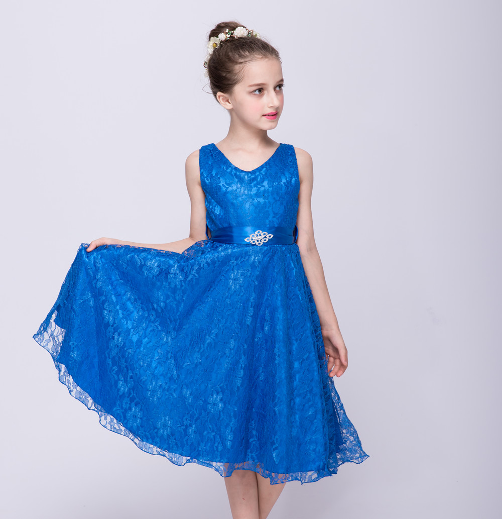 Ball Gown Girls Costume 24