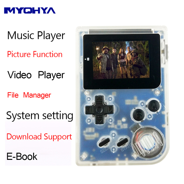 Portable Handheld 32Bit Game Console Retro Download Support Mini ...