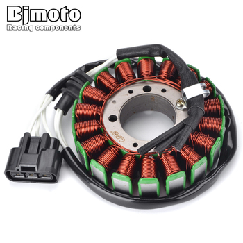 BJMOTO 5PW-81410-00 Motorcycle Magneto Ignition Stator Coil For Yamaha YZF R1 YZF-R1 2002-2003 Motorbikes Generator
