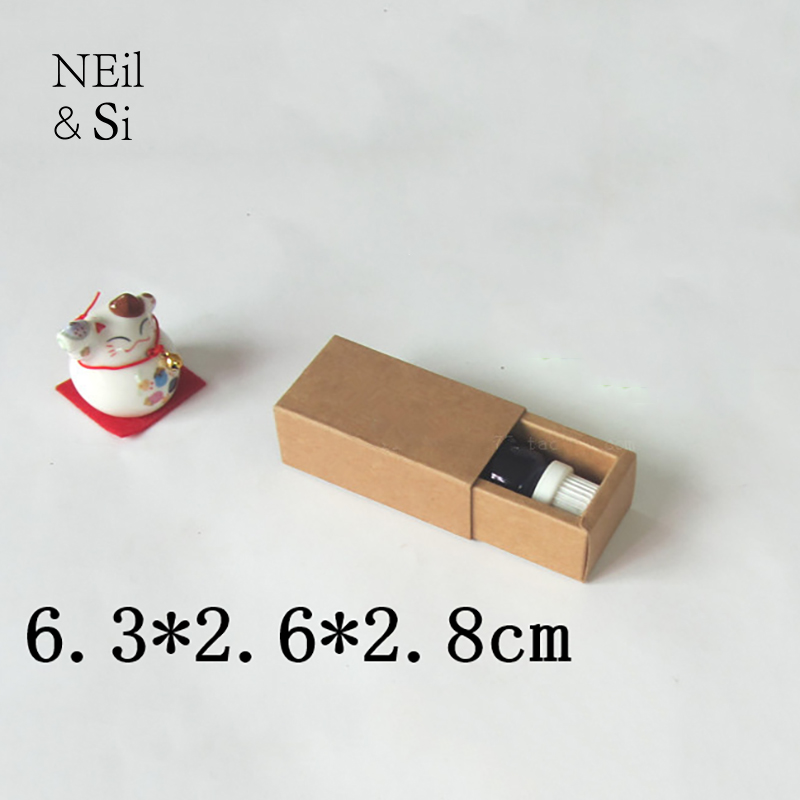 Small Gift Kraft Box Essential oil Lipstick Perfume ...