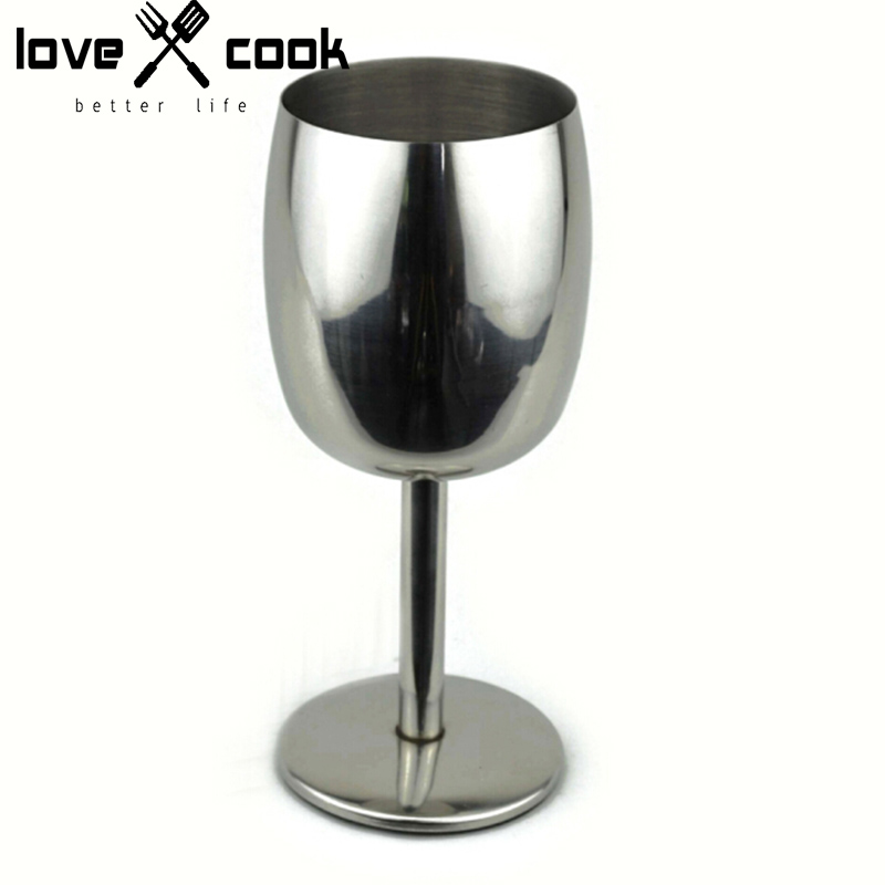 Thick 304 Stainless Steel Wine Glass Fashion Red Wine