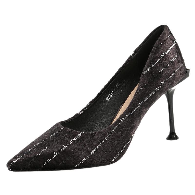 Stiletto 2019 Printemps Net Nouveau Banquet Pointu Femmes De 1 Fille Talon Haut Princesse Frais Petit Chaussures 2 Rouge tIIqOwg