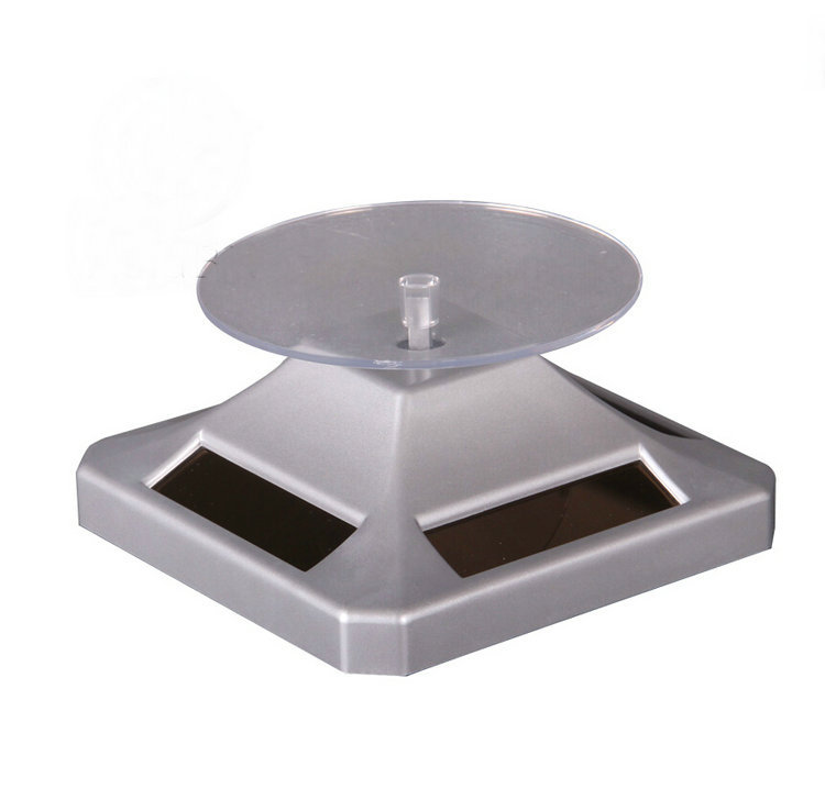 Environmental Solar Power Automatic Jewelry Display Stand Base Turntable Of Silver Color Fashion Solar Rotary For Display Show c gonzalez alternative methodologies for social assessment of environmental projects