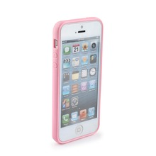 For iPhone5 Pink 4 inch Mobile Phone Case Durable and Wearable Light Pink iphone 5 Case Protective Cover For iPhone 5 Case