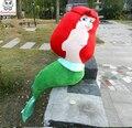 Большой Русалка Игрушки Дети Чучела детские Игрушки kid подарок на день рождения Рождество кукла плюшевые игрушки 100 см