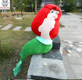 Grande Sirena Juguete Niños regalo de cumpleaños de Peluche de Juguete del cabrito del bebé muñeca de la felpa juguetes de Navidad 100 cm
