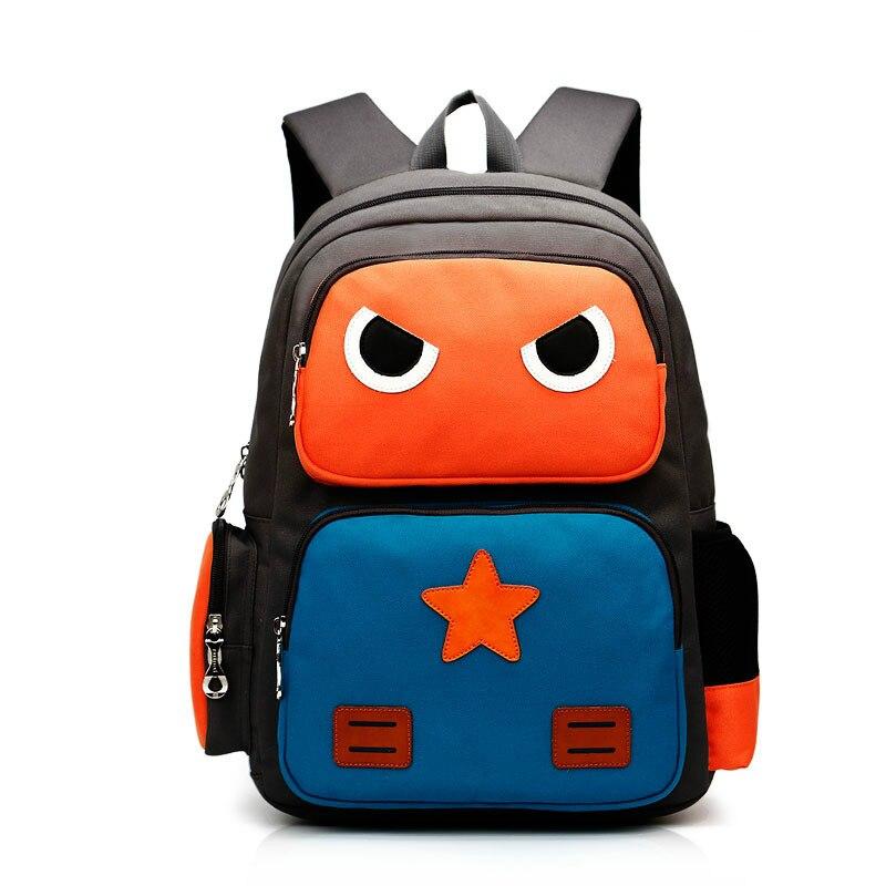 Cartoon School Bags For Boys/girls Waterproof Robot Backpack Children Primary School Bags Puppy Mochilas Rucksacks Kids & Baby's Bags