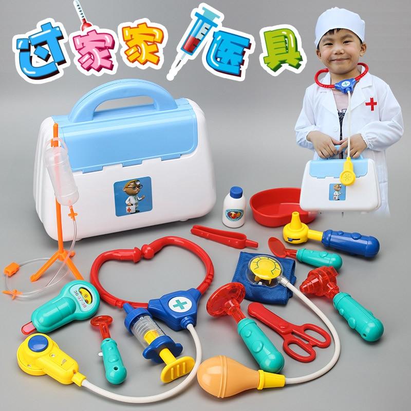 + Colthes Kid Doctor Set Mini Kit de Herramientas Médicas Juego de - Juguetes clásicos - foto 2