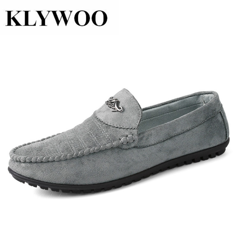 KLYWOO Men Loafers Fashion Mens Summer Casual Shoes Spring Leather Shoes Men breathable Slip On Shoes Lazy Male Boats Shoes bimuduiyu new fashion mens shoes spring summer breathable quality casual shoes slip on mens loafers designers moccasins men shoe