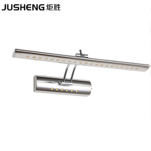 EMS Free shipping 2013 Stylish Item 002# 9W LED Mirror Lighting High Quality/stainless steel/CE&ROHS,9W Bathroom Wall Light