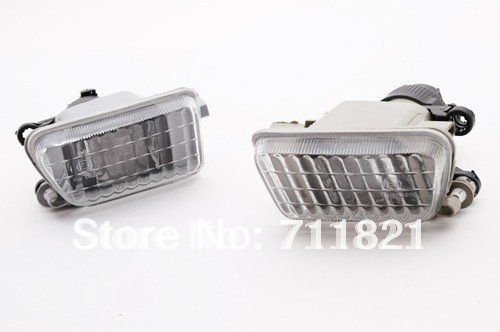 все цены на Clear Glass Front Fog Light With Metal Bracket For VW MK2 Golf Jetta Big Bumper онлайн