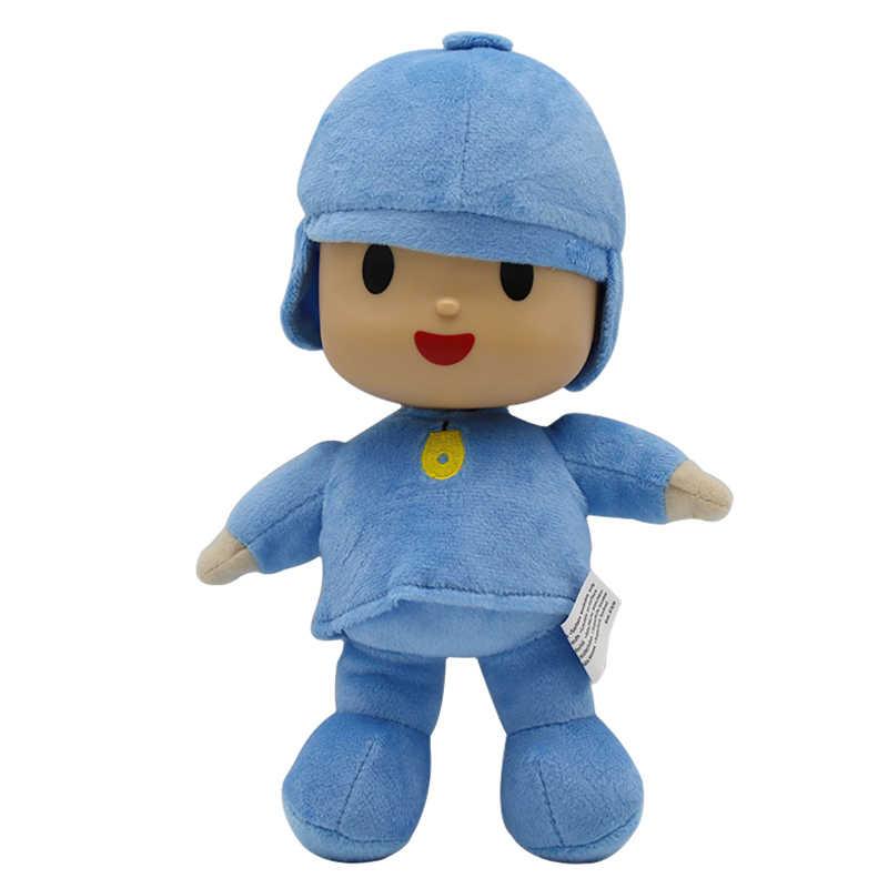 Brinquedos Dos Desenhos Animados plush toy Bichos de Pelúcia Pelúcia Loula pocoyo Elly pato New Kids Brinquedos Presente Bonito Stuffed Dolls Bichos de pelúcia