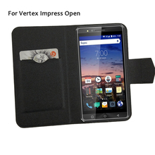 5 Colors Super!Vertex Impress Open Phone Case Leather Cover,2017 Factory Direct Fashion Luxury Full Flip Stand Phone Cases