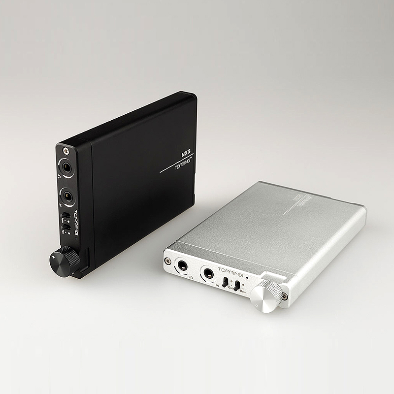 NEW TOPPING NX3 Portable Headphone Amplifier Hifi Stereo Audio Earphone Amplifier TPA6120A2 OPA2134 AMP nx1 nx 1 new