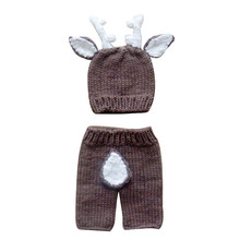 Knitted Hats + Pants Sets 1-6m