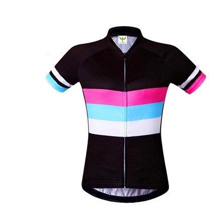 Prix pour Femmes Cyclisme Jersey Ropa De Camisa Ciclismo Manches Courtes Vélo Vêtements Sport Jersey Vélo