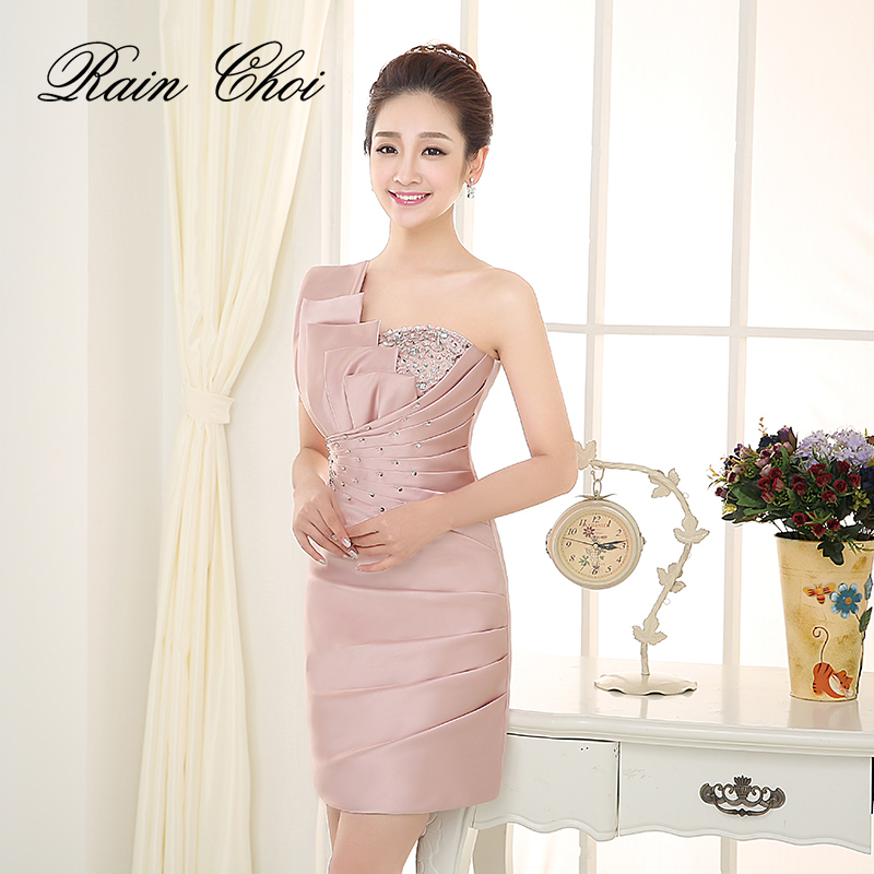 2019 short evening dress slim fit formal party prom gowns short evening dress