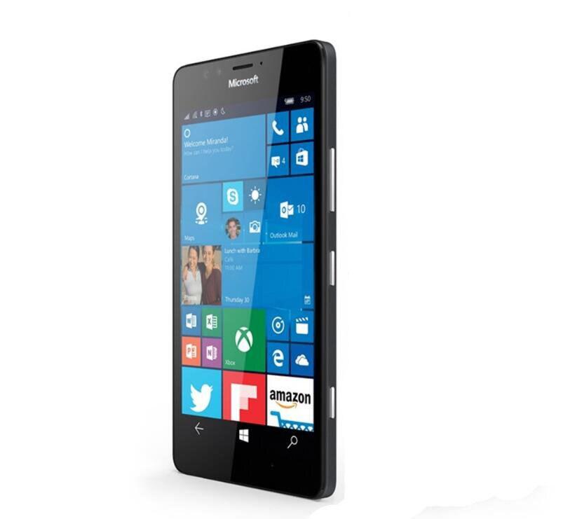 Nokia Lumia 950 Microsoft XL Original Desbloqueado Windows 10 4G LTE GSM de Telefonia móvel 5.7 ''20MP Núcleo octa 32 3 GB de RAM GB ROM