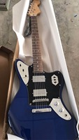 Wholesale Cheap Guitar New Fdr Jaguar Electric Guitar Mahogany Body/Neck In Blue 170920