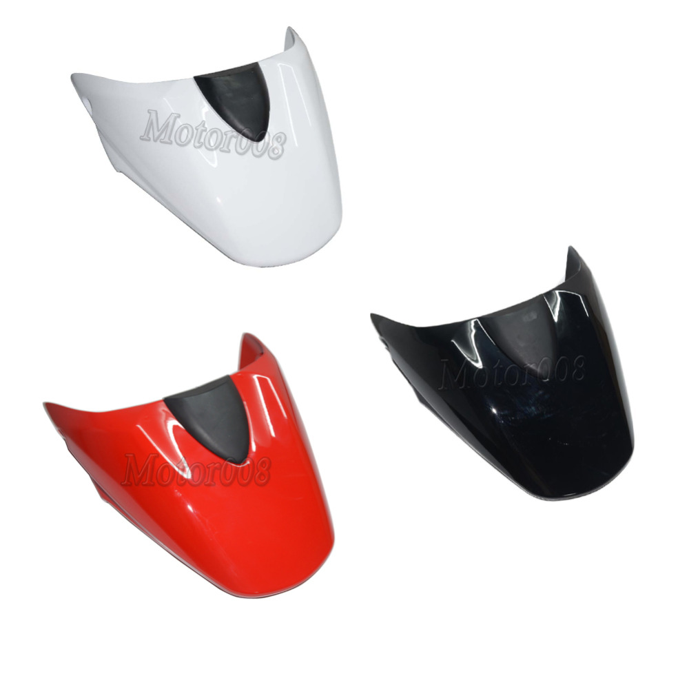 White Red Black Tail Rear cowl cover fairing Seat Cover for Ducati Monster 659 696 796 1100 Motorcycle Accessories motocycle accessories for ducati monster 659 696 796 1100 s alternator cover black