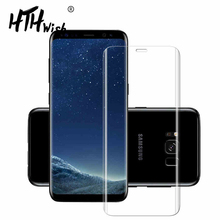 For Samsung Galaxy S9 S8 S6 Edge plus Galaxy S7 edge Note 8 3D Screen Protector Film Full Cover Curved Round Not Tempered Glass все цены