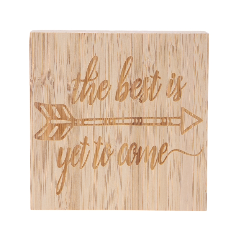 The Best Is Yet To Come Rustic Wood Sign Home Table Desk Decor Ornament Crafts