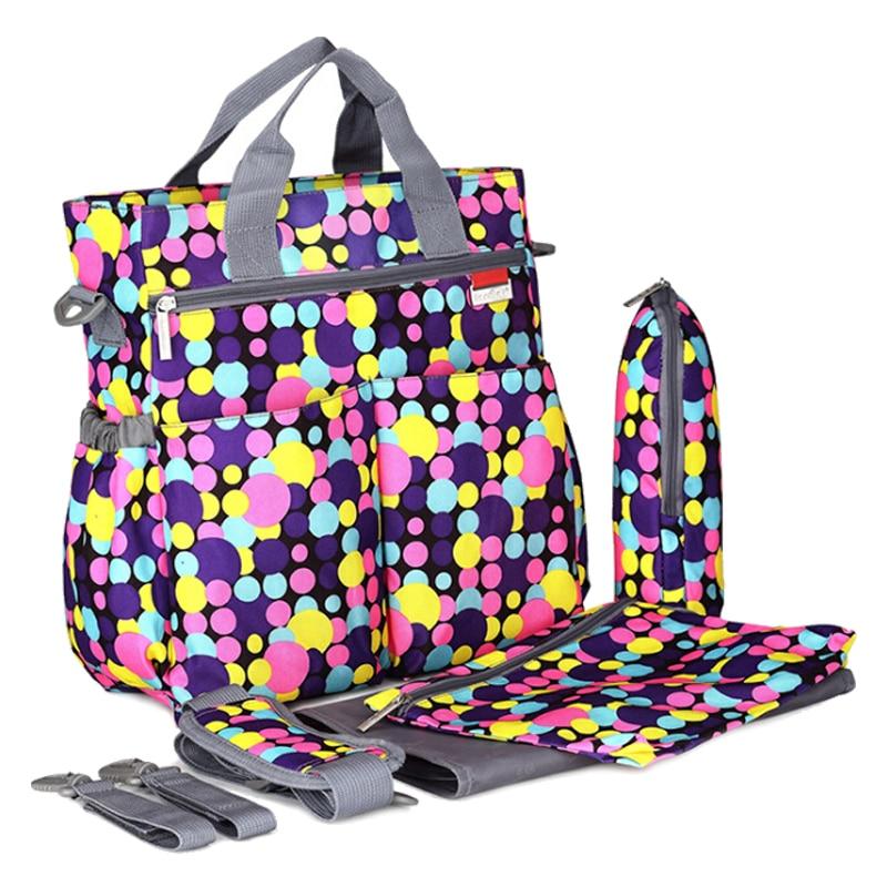 Kids Maternity 600DPU Mummy Bag Multifunction Diaper Bag Big Size Nappy Bag Shoulder Bag Dot